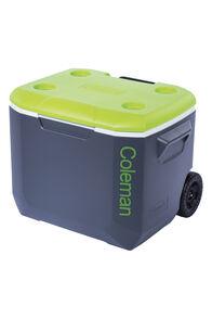 Coleman Vertical Cooler — 57 L, Grey/Green, hi-res