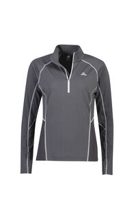 Macpac Casswell Long Sleeve Shirt - Women's, Asphalt, hi-res