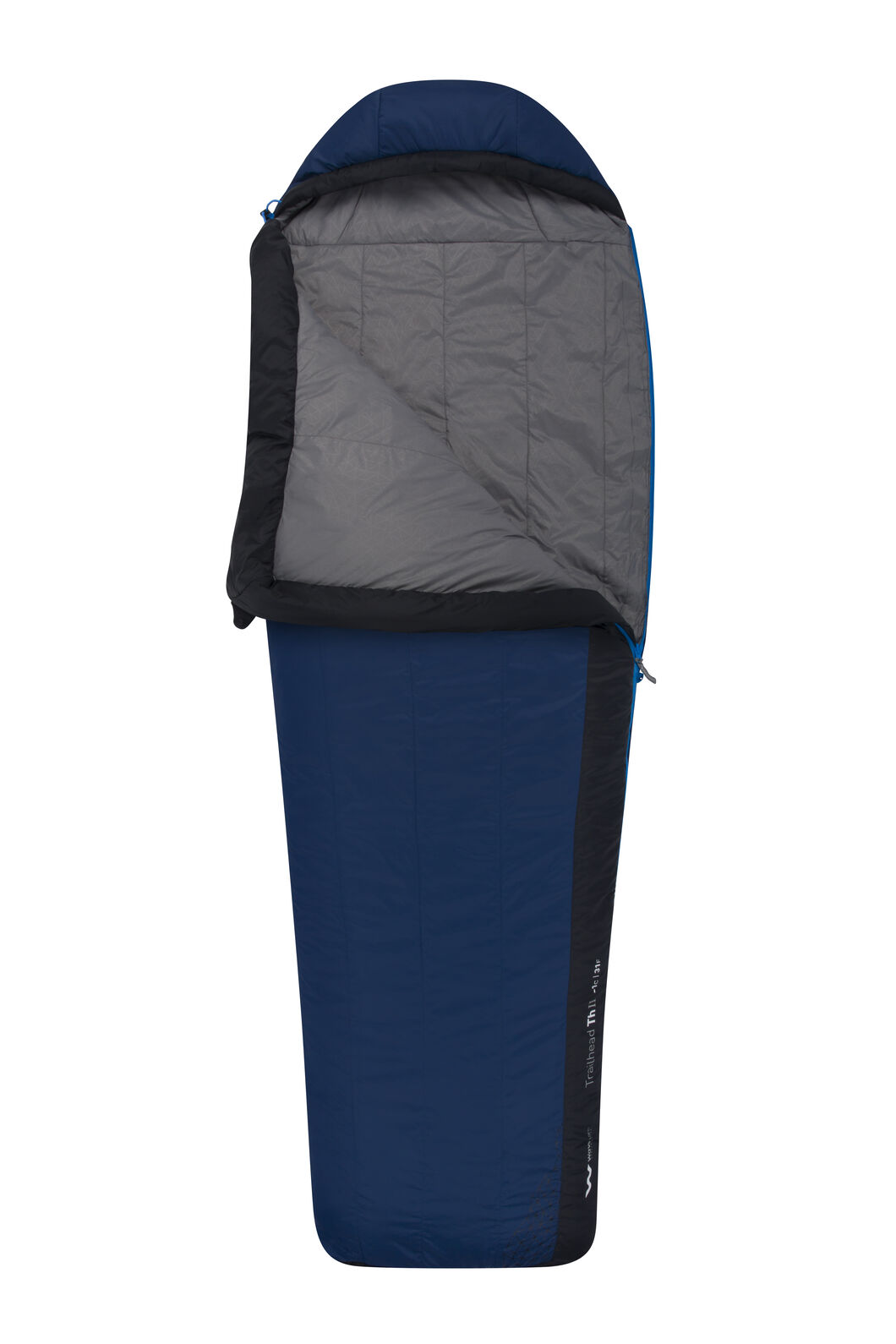 Sea to Summit Trailhead II Sleeping Bag - Long, Dark Blue, hi-res