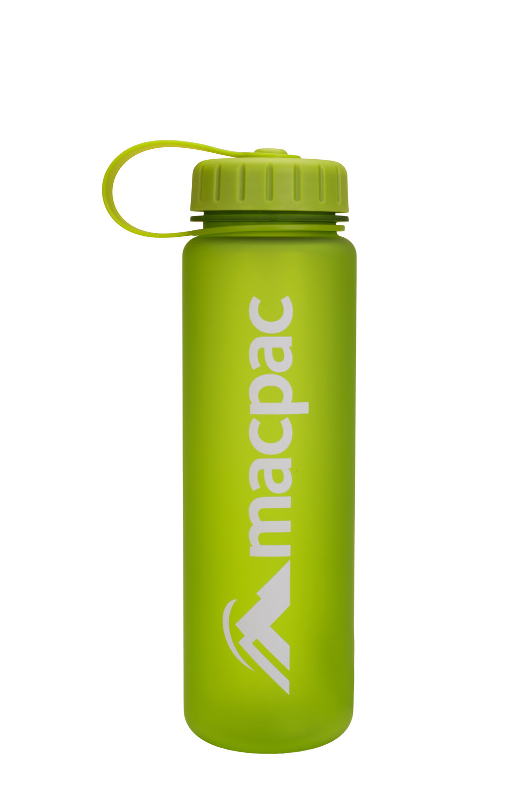 Macpac Soft Touch Water Bottle — 600 ml, Green, hi-res