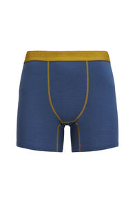 Macpac Men's 180 Merino Boxers, Orion Blue/Dried Tussock, hi-res