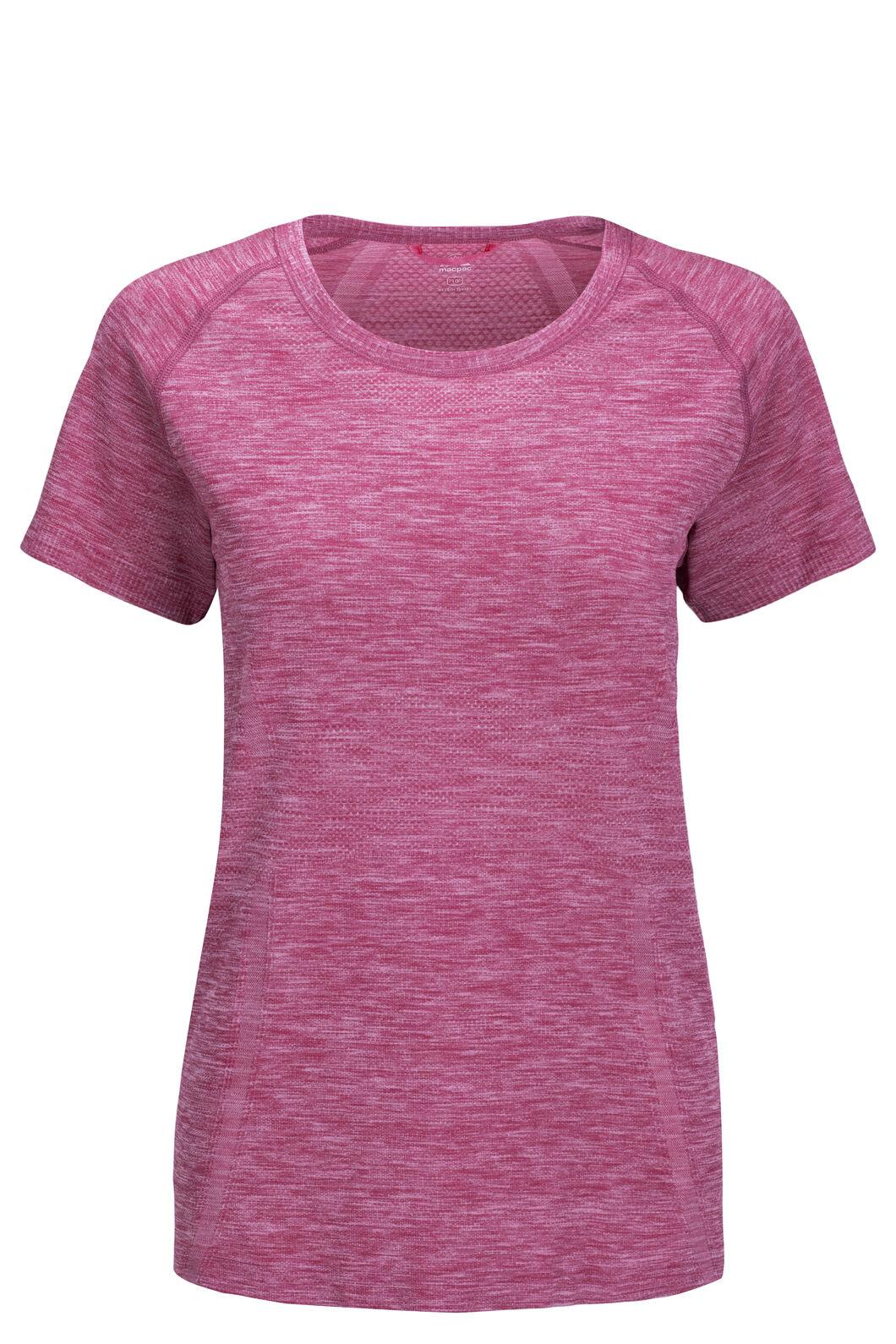 Macpac Limitless Short Sleeve Tee — Women's, Purple Orchid, hi-res