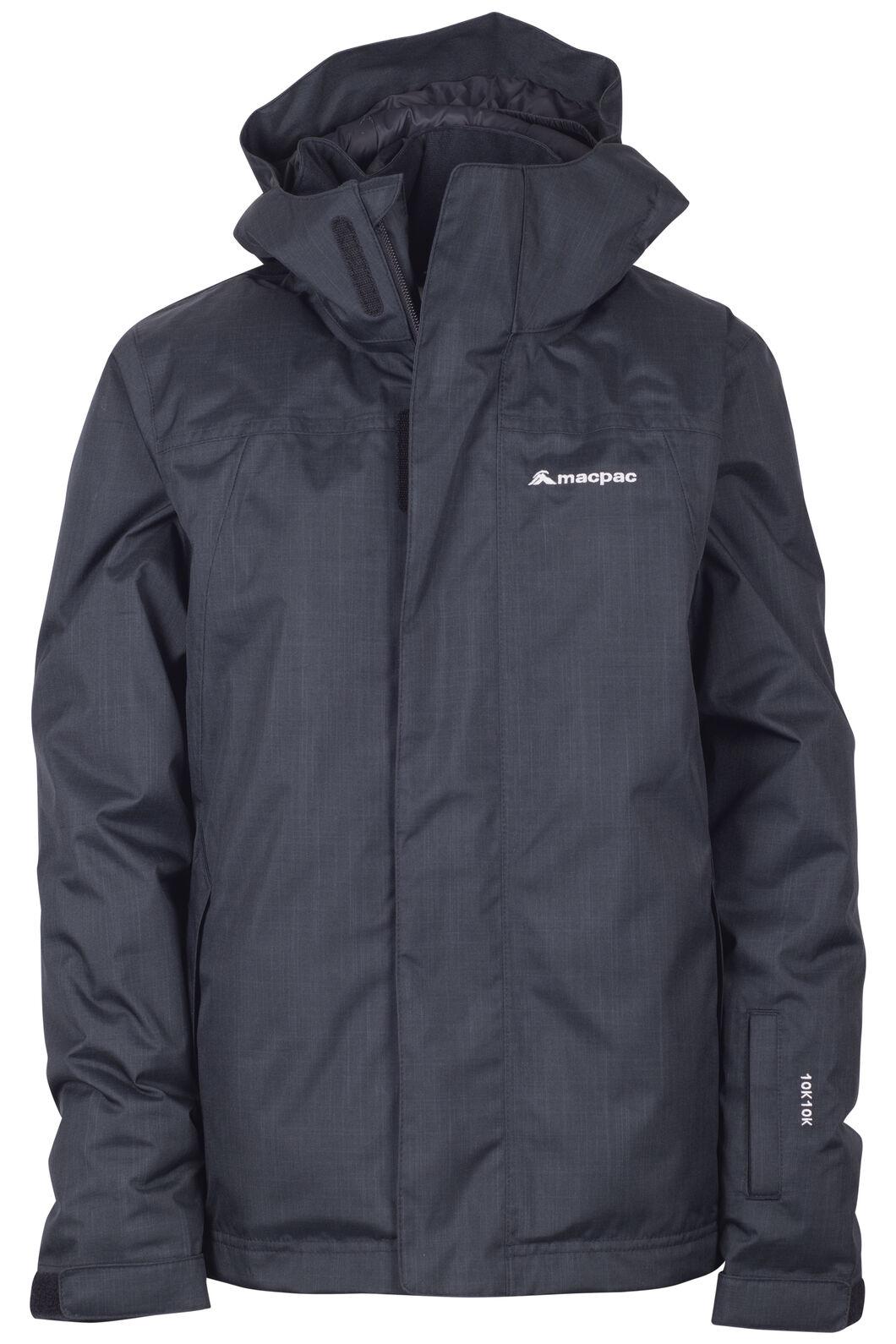 Macpac Spree Ski Jacket - Kids', Black, hi-res