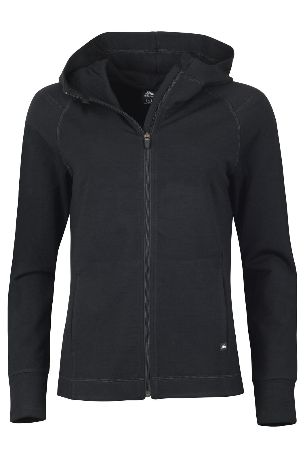 Focus 280 Merino Hoody - Women's, Black, hi-res