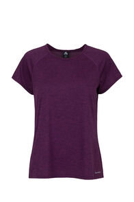 Macpac Take a Hike Short Sleeve - Women's, Potent Purple, hi-res