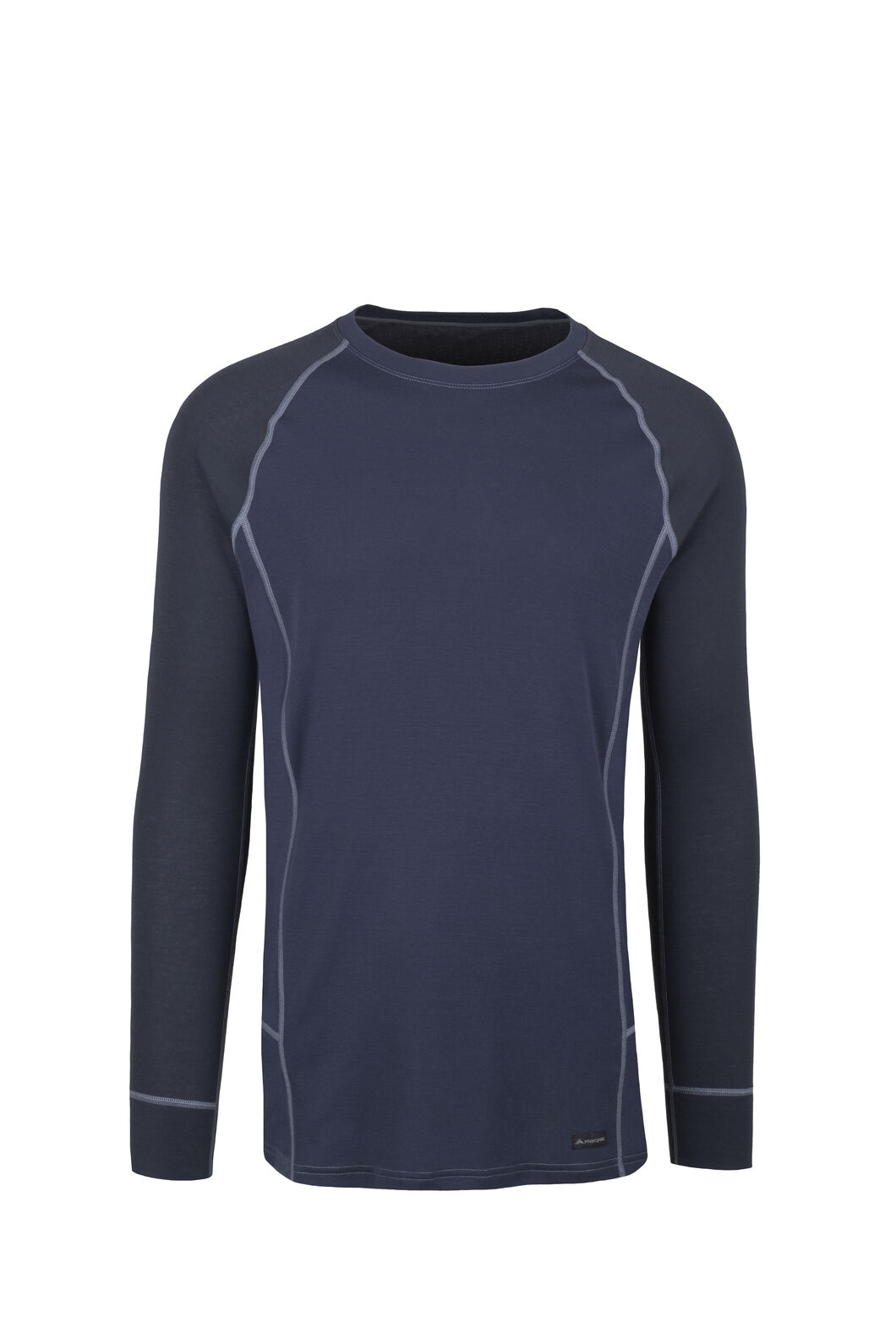 Macpac Geothermal Long Sleeve Top - Men's, Salute/Mood Indigo, hi-res