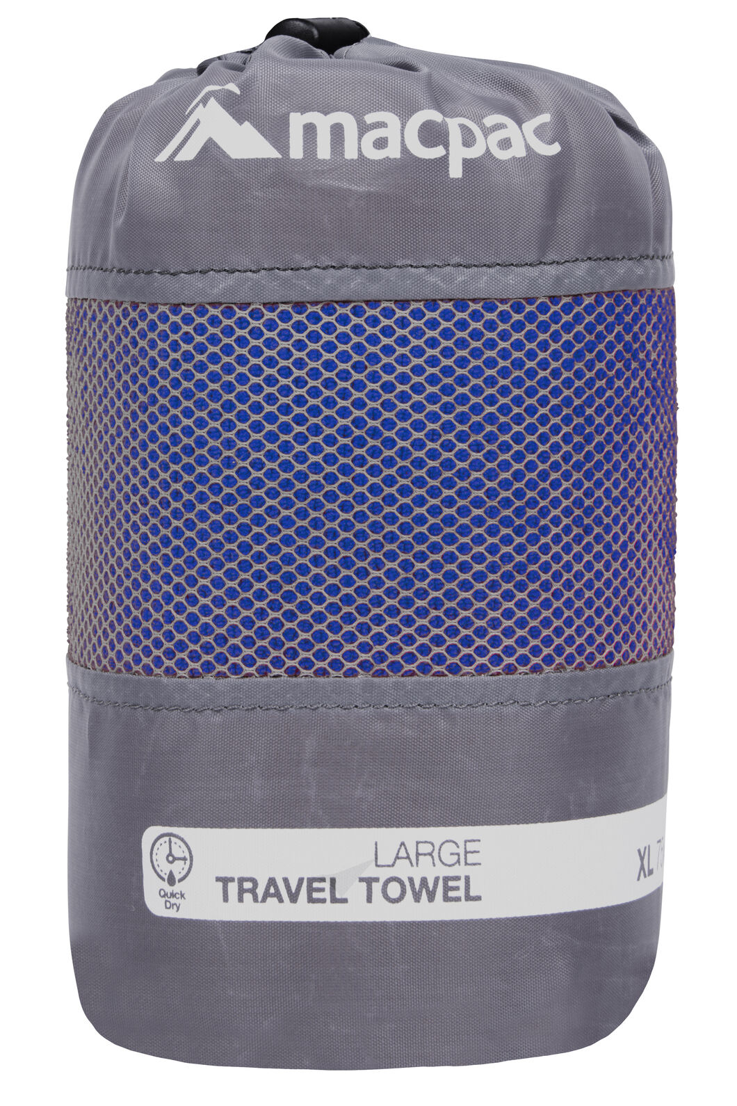 Travel Towel Large, Sodalite Blue, hi-res