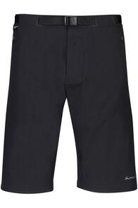 Macpac Trekker Pertex® Equilibrium Softshell Shorts — Men's, Black, hi-res