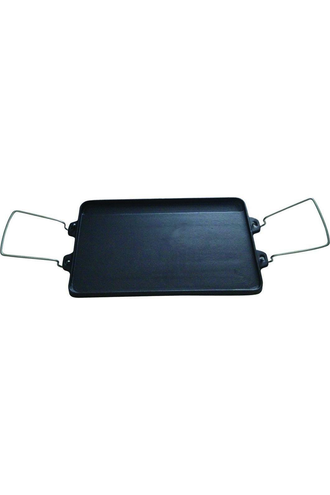 Wanderer 2 Burner Reversible Cast Iron Cook Plate, None, hi-res