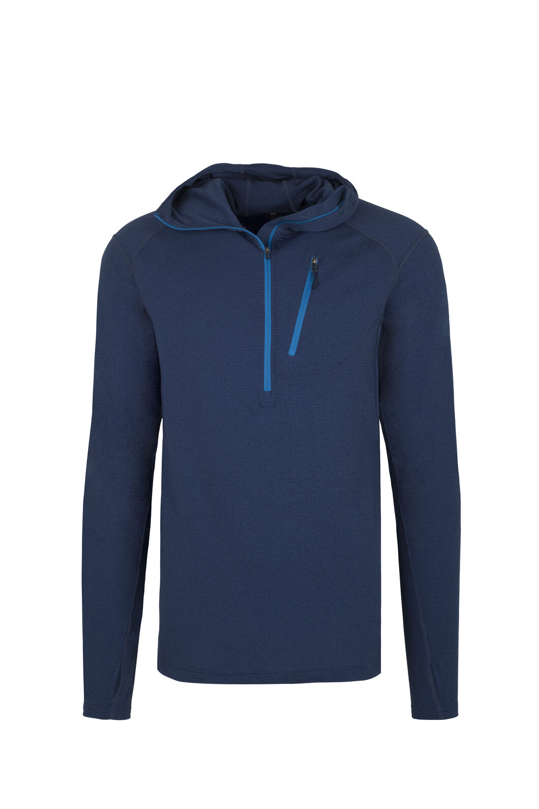 Macpac Prothermal Polartec® Hooded Pullover — Men's, Medieval Blue, hi-res
