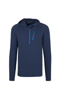 Macpac Prothermal Polartec® Hooded Pullover — Men's, Medieval Blue, hi-res