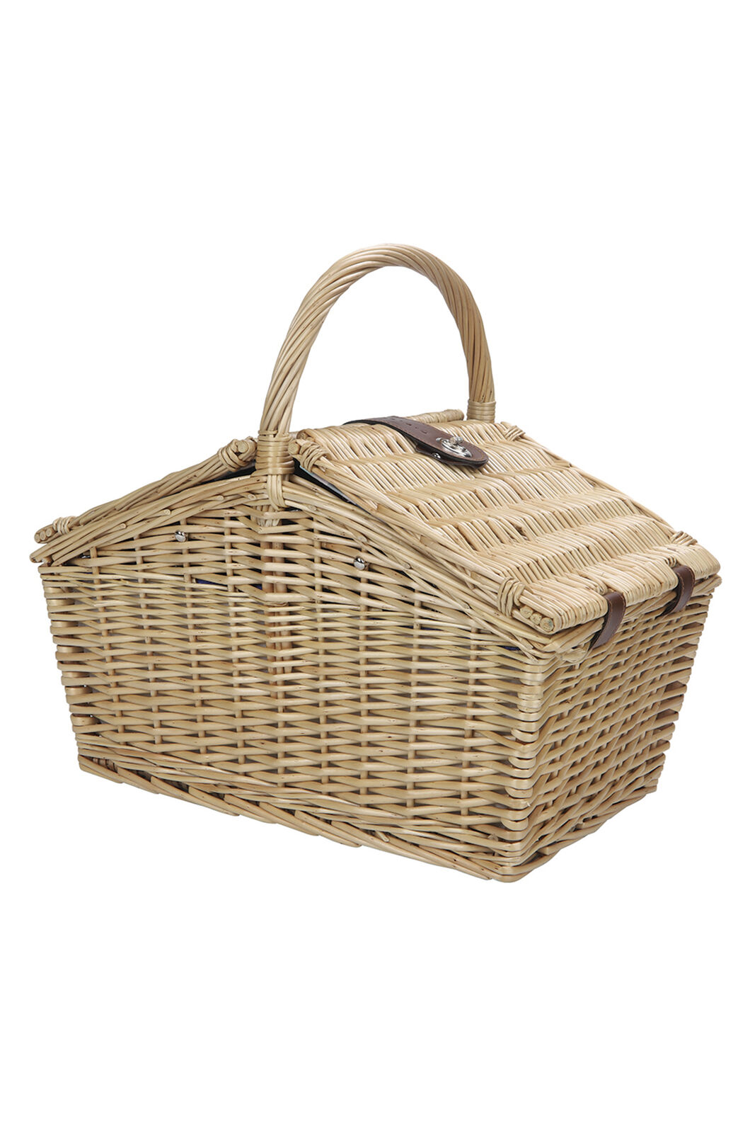 Wanderer Wicker Picnic Basket — Four Person, None, hi-res