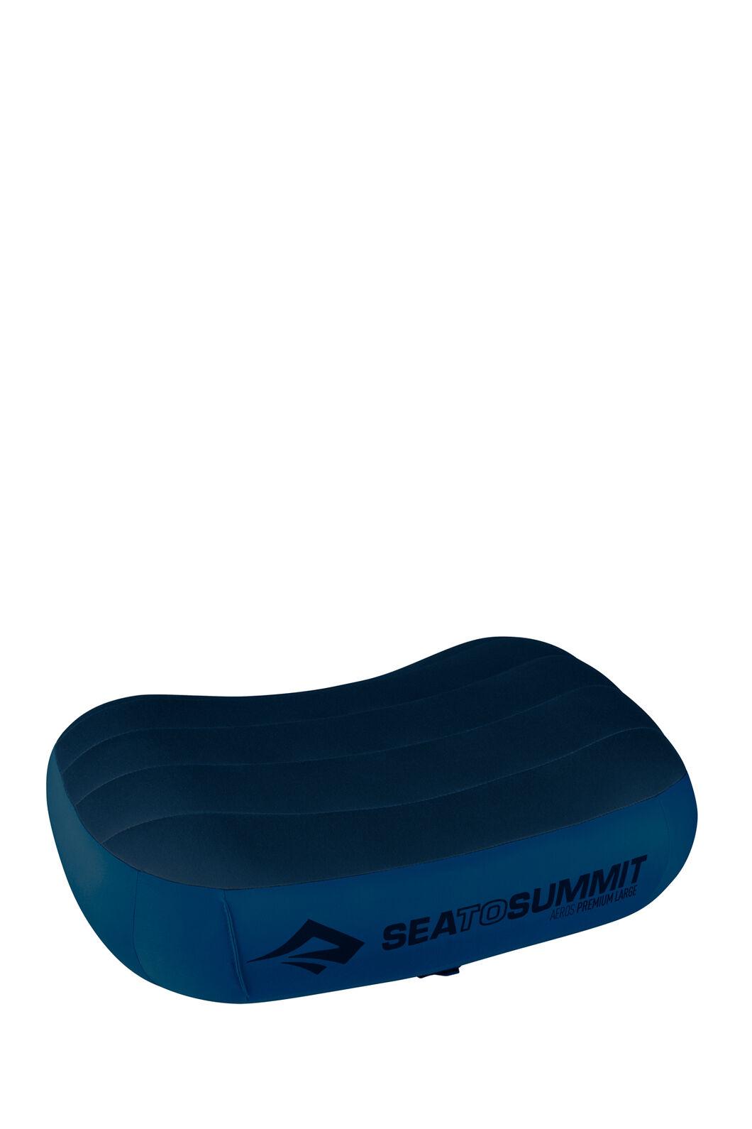 Sea to Summit Aeros Premium Pillow — Large, Navy, hi-res