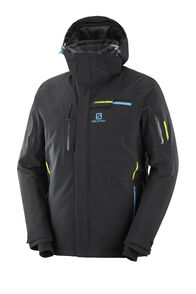 Salomon Brilliant Jacket — Men's, Black, hi-res