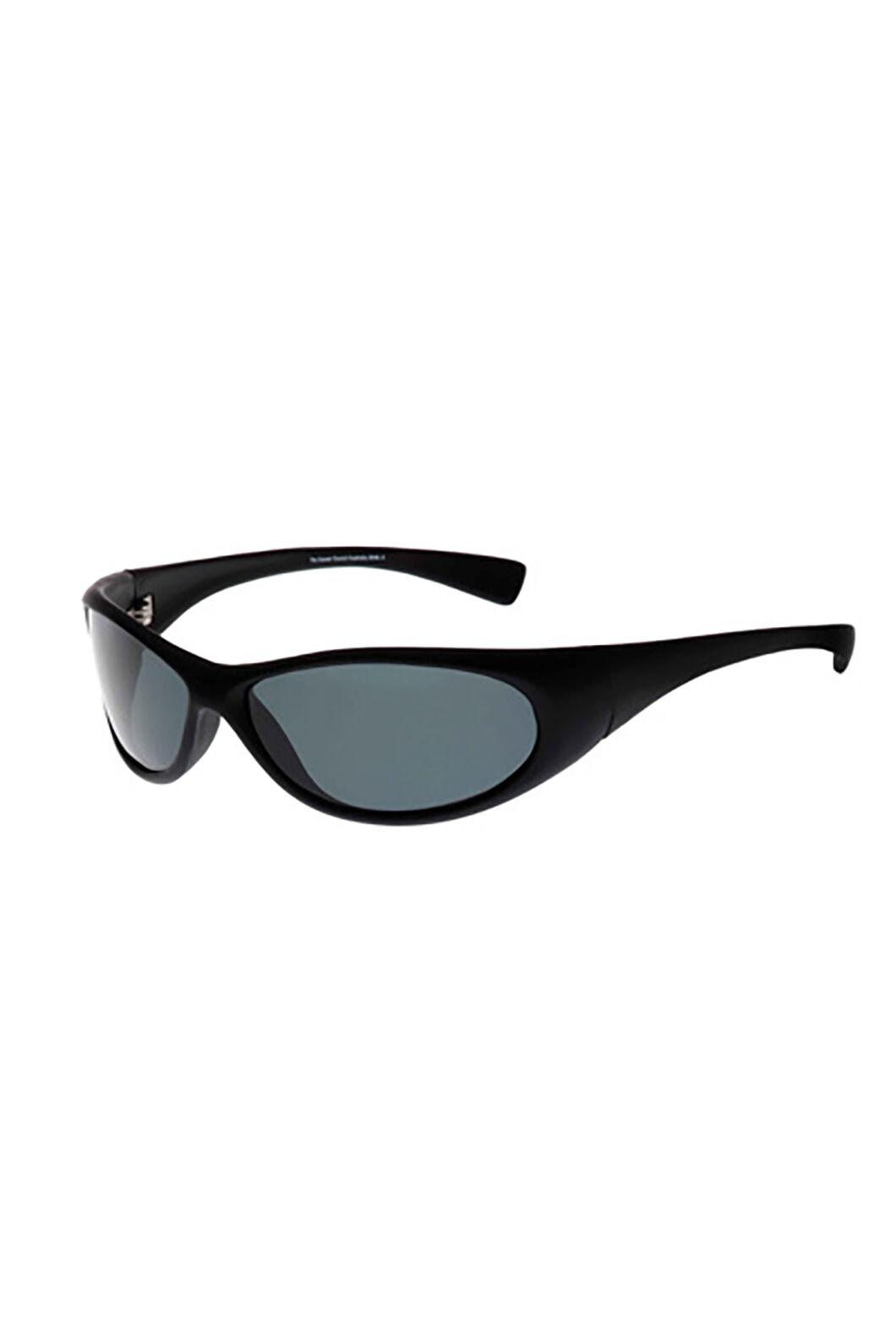 Cancer Council Unisex Logan Polarised Sunglasses, Black, hi-res