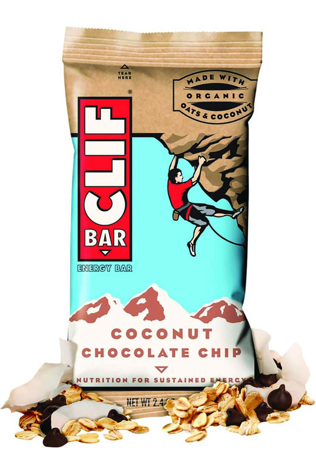 Clif Coconut Chocolate Chip Bar, None, hi-res