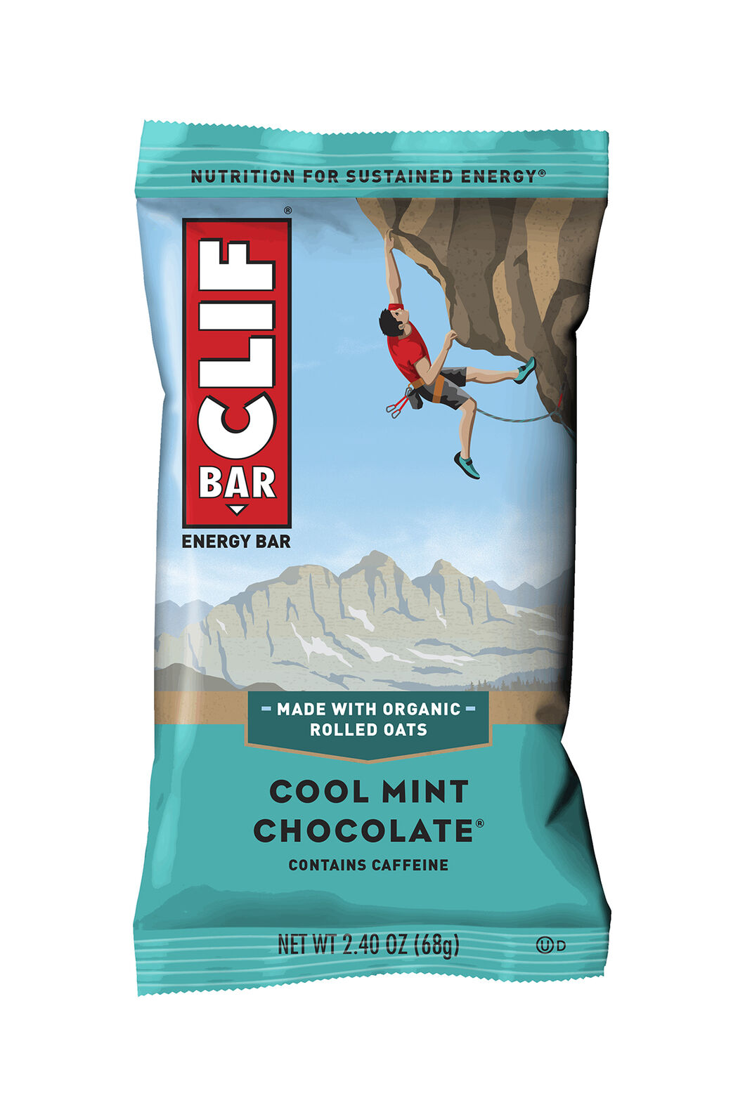 Clif Cool Mint Chocolate With Caffeine, None, hi-res