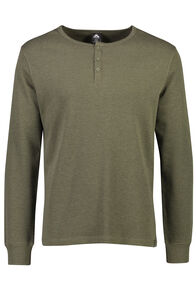 Waffle Henley - Men's, Grape Leaf, hi-res