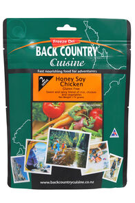 Back Country Cuisine Freeze Dried Food Honey Soy Chicken 2 Serves, None, hi-res