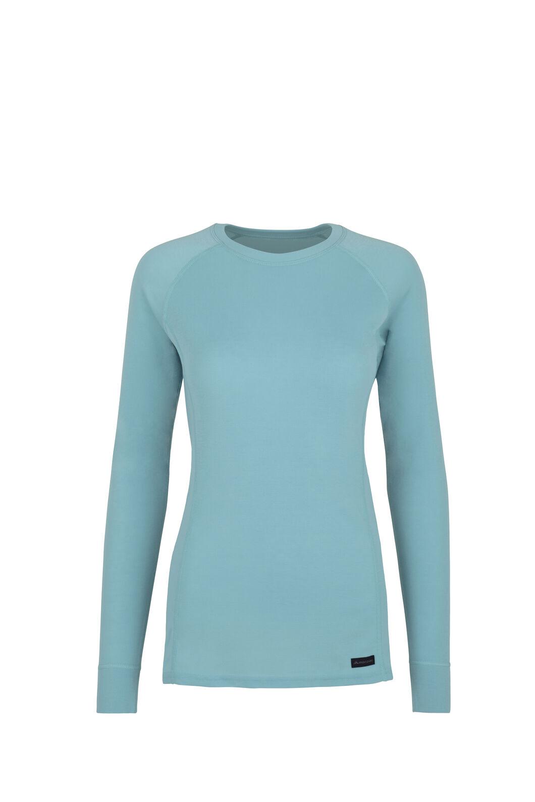 Macpac Geothermal Long Sleeve Top - Women's, Etheral Blue, hi-res