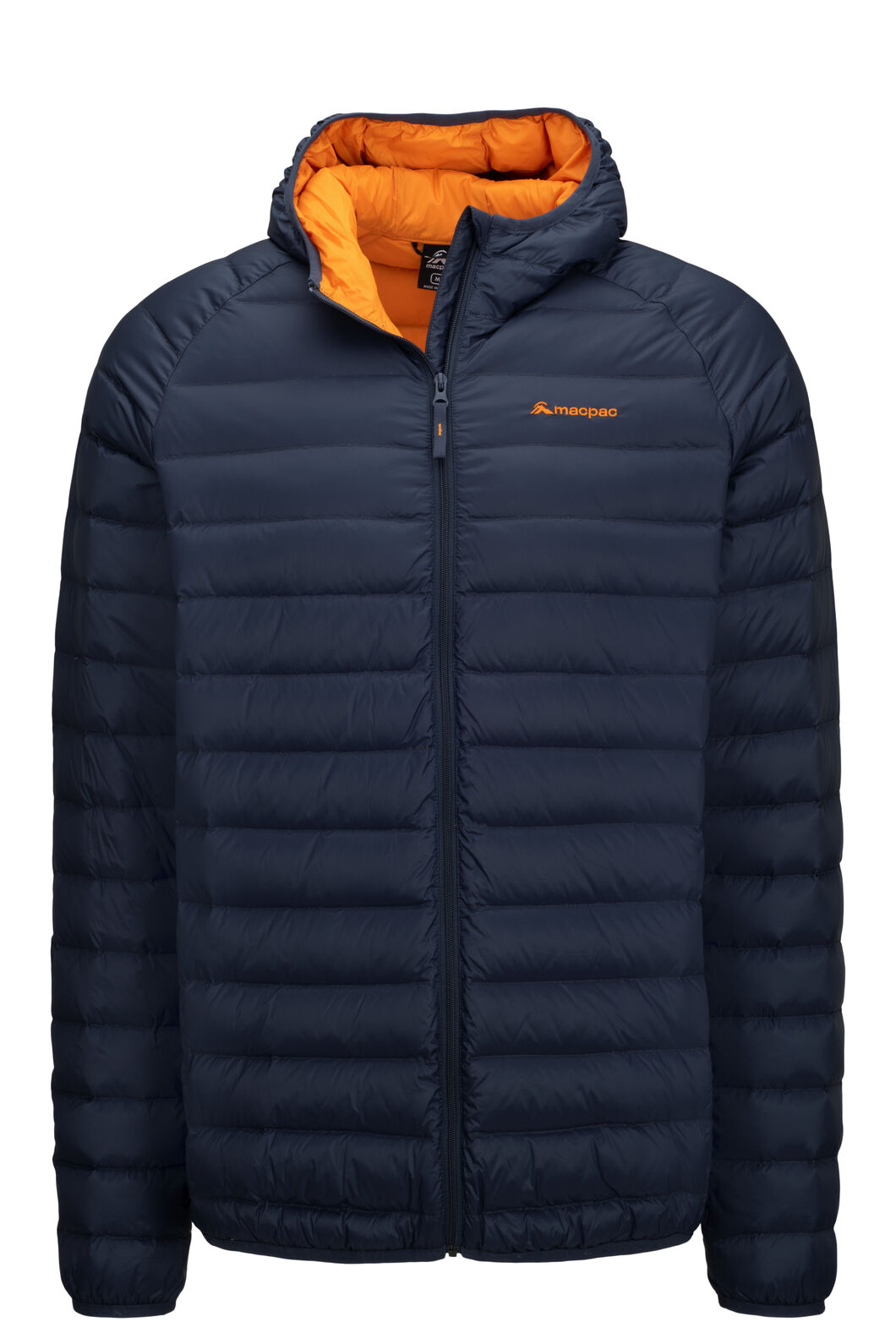 Macpac Uber Hooded Down Jacket — Men's, BLUE NIGHTS, hi-res