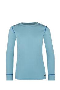Macpac Geothermal Long Sleeve Top - Kids', Etheral Blue, hi-res