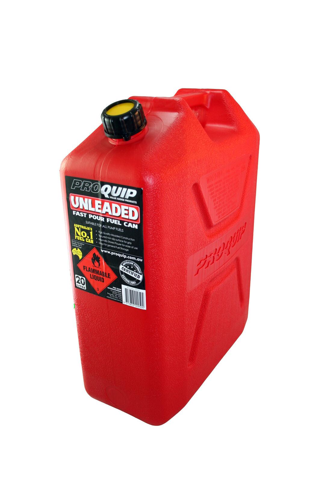 Pro Quip 20L Plastic Fuel Jerry Can, None, hi-res