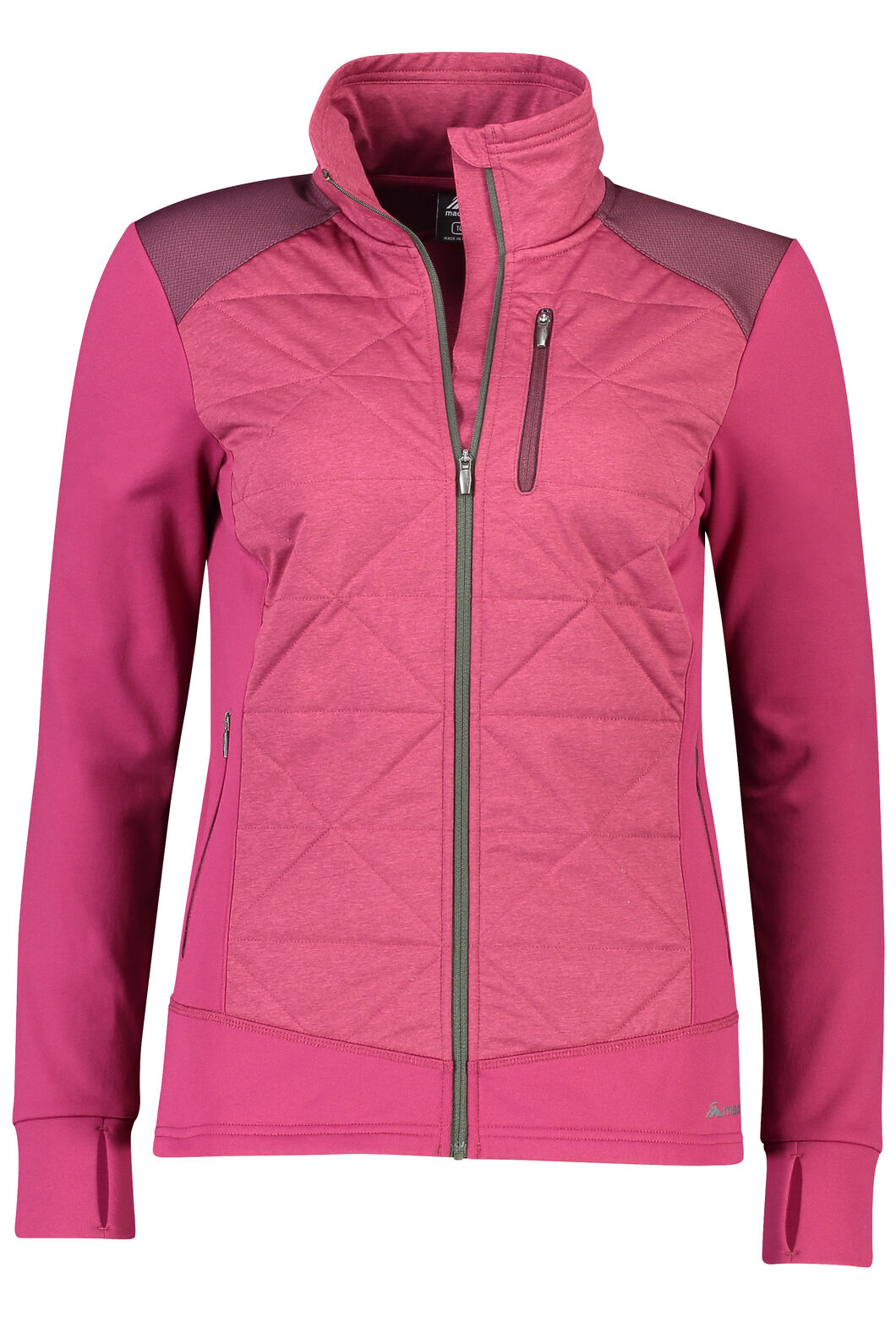 Macpac Accelerate PrimaLoft® Fleece Jacket — Women's, Beet Red, hi-res