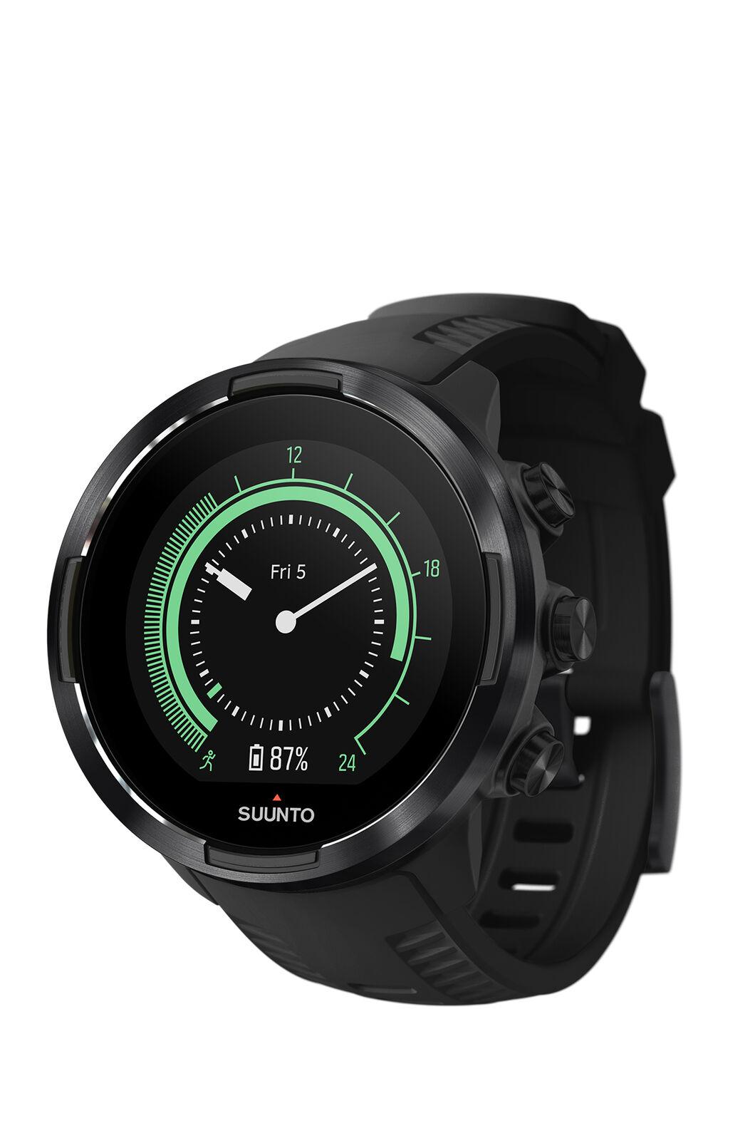 Suunto 9 Baro GPS Sports Watch, Black, hi-res