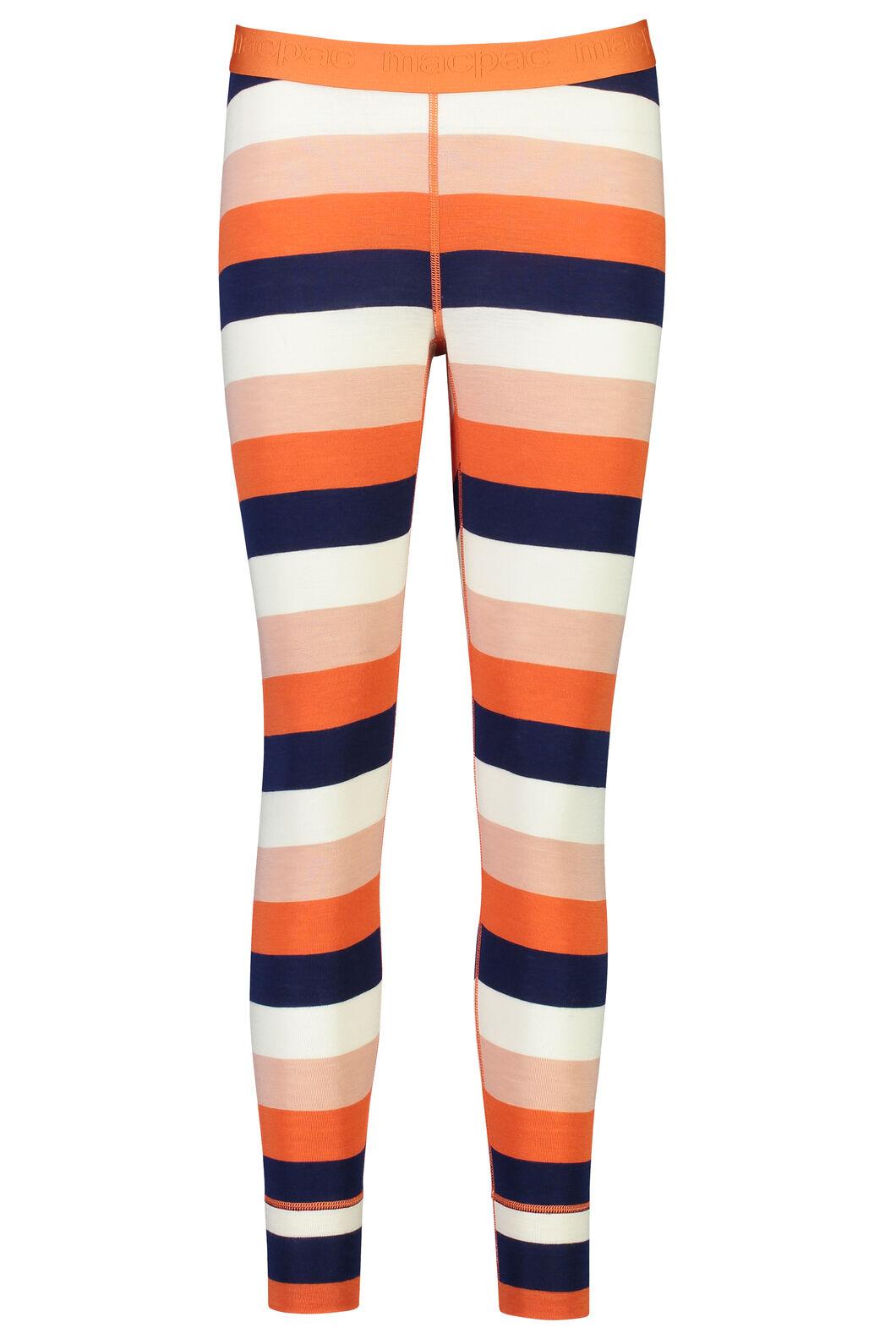 220 Merino Long Johns - Women's, Stripe, hi-res