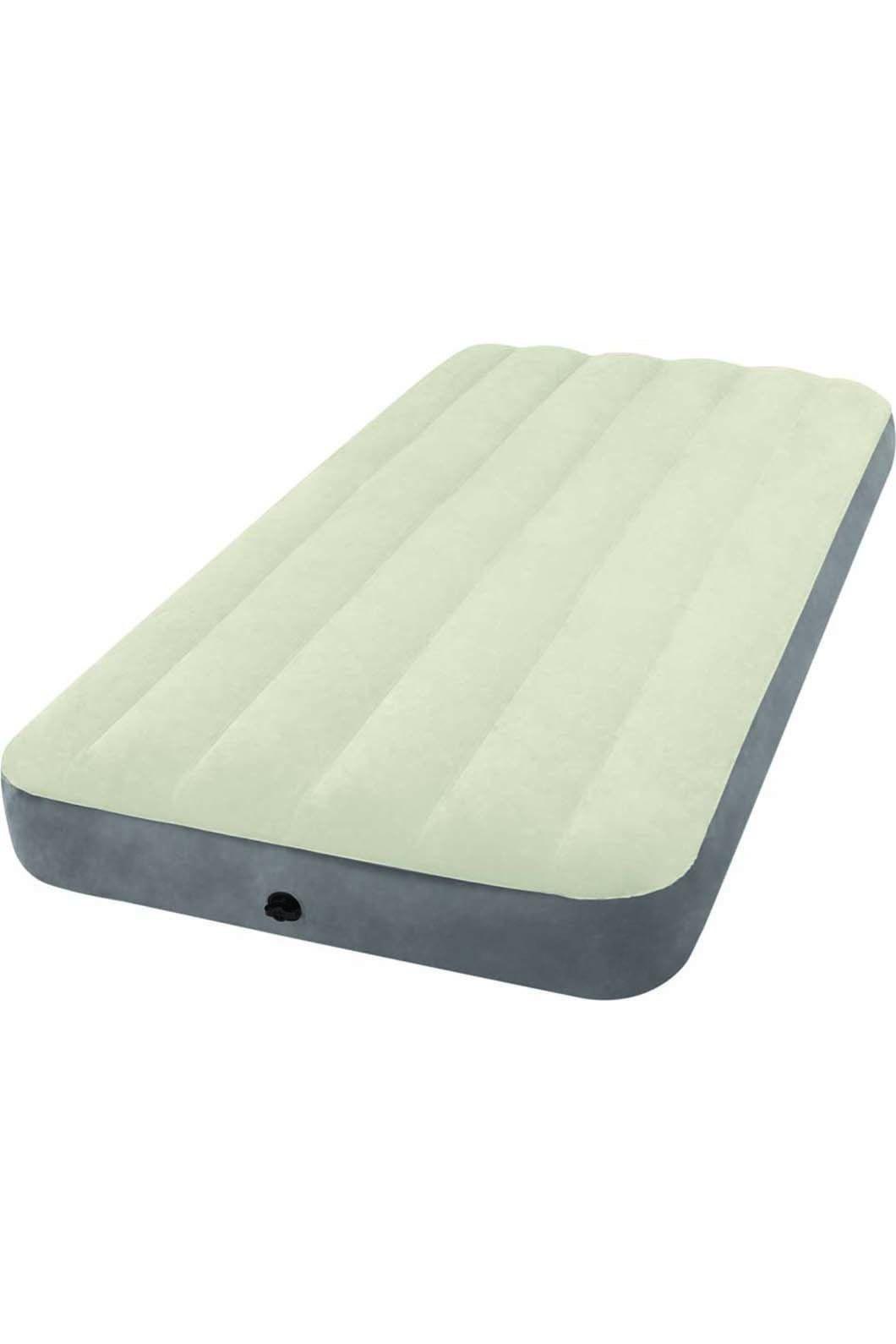 Intex Single Deluxe Dura-Beam Air Bed, None, hi-res