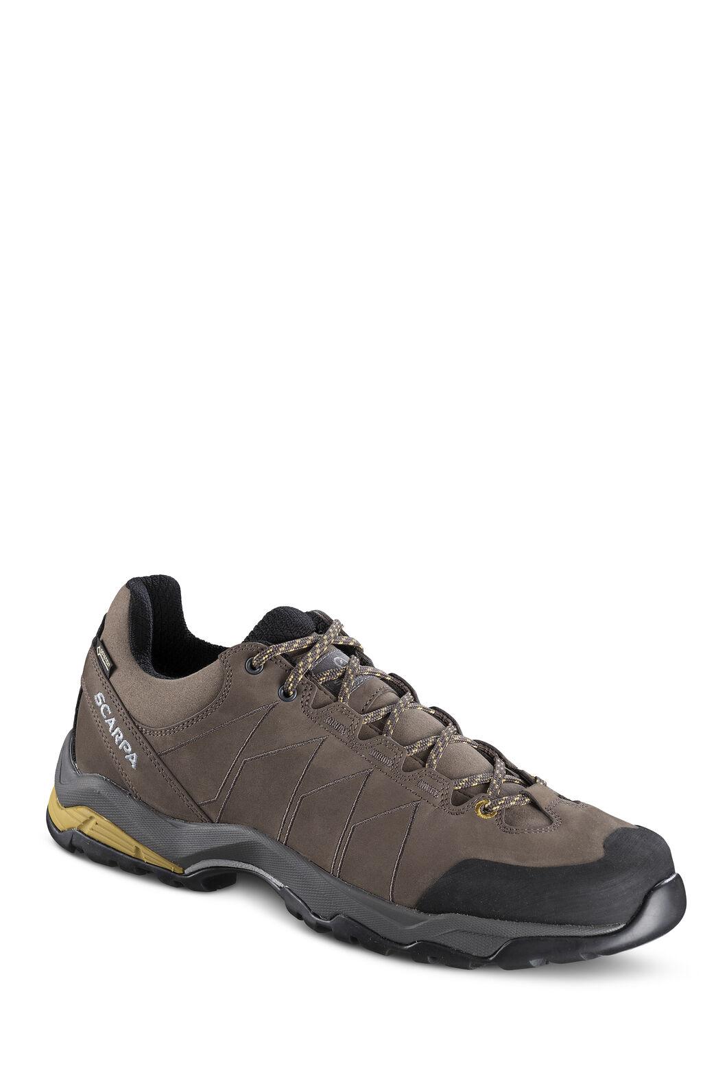 Scarpa Moraine Plus GTX Hiking Shoes - Men's, Charcoal/SulphurGreen, hi-res