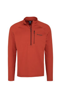 Macpac Ion Polartec® Fleece Half Zip Pullover — Men's, Rooibos Tea, hi-res