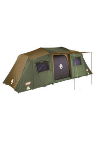 Coleman Northstar Instant Up Lighted Tent with Darkroom Technology — 10 Person, Brown/Green, hi-res
