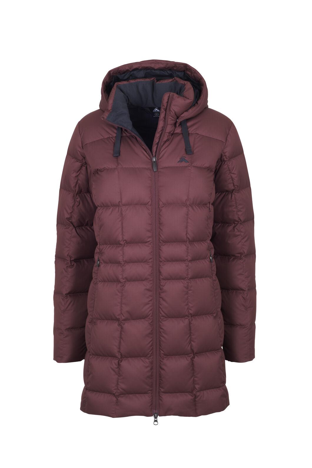 Macpac Aurora Down Coat V3 - Women's, Bitter Chocolate, hi-res