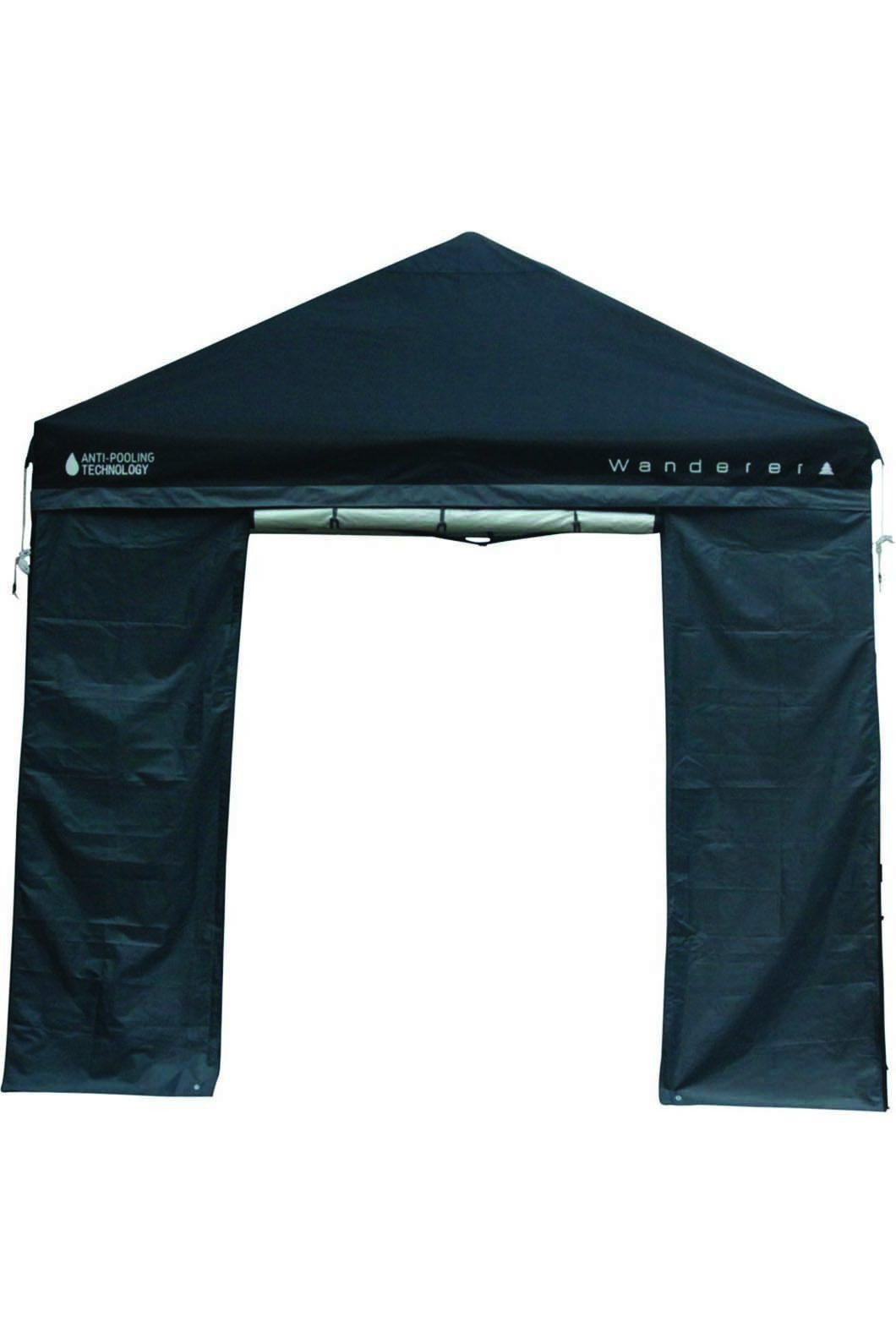 Wanderer Gazebo 3x3m DLX Wall with Door, None, hi-res