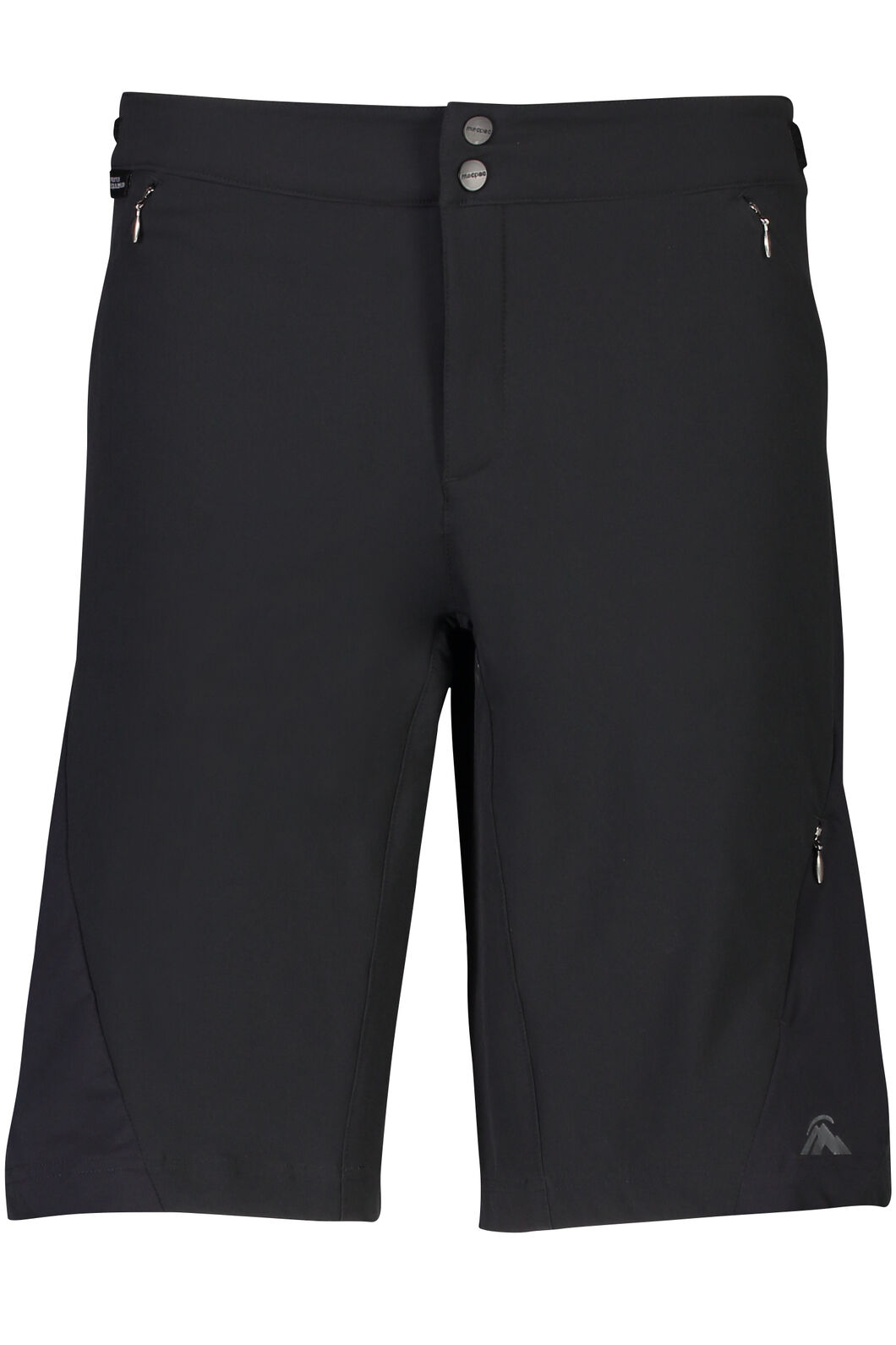 Macpac Stretch Pertex Equilibrium® Mountain Bike Shorts - Women's, Black, hi-res