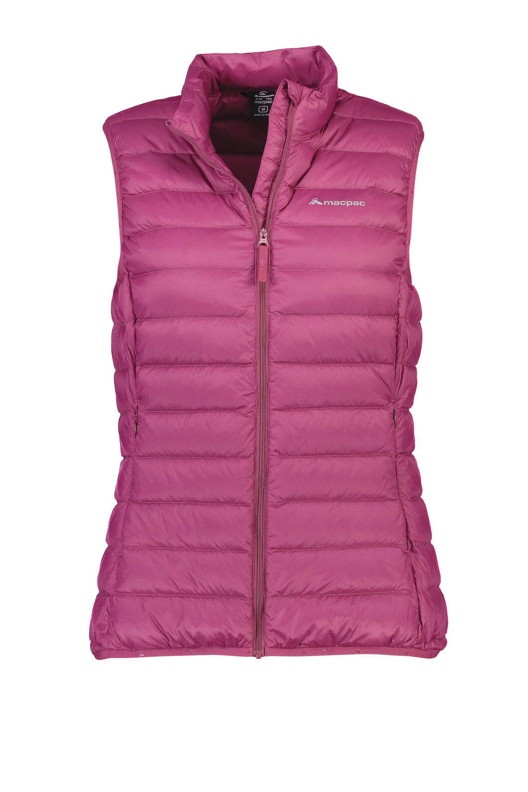 Macpac Uber Light Down Vest - Women's, Beet Red, hi-res
