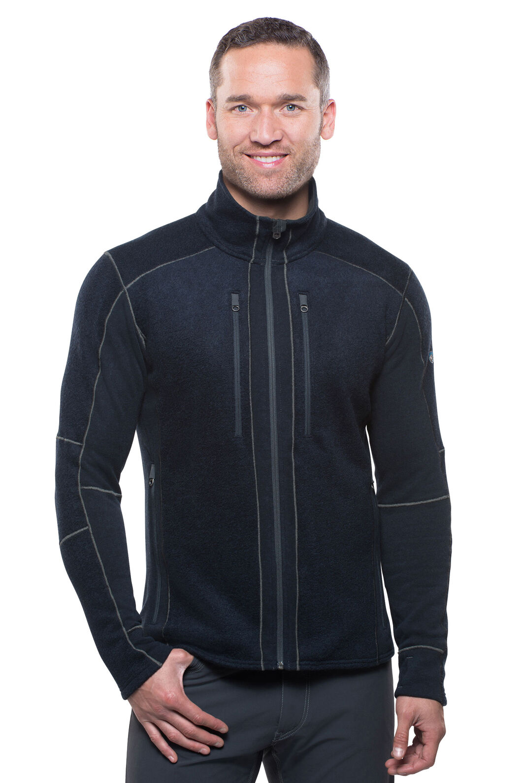 Kuhl Interceptr Fleece Jacket - Men's, Navy, hi-res