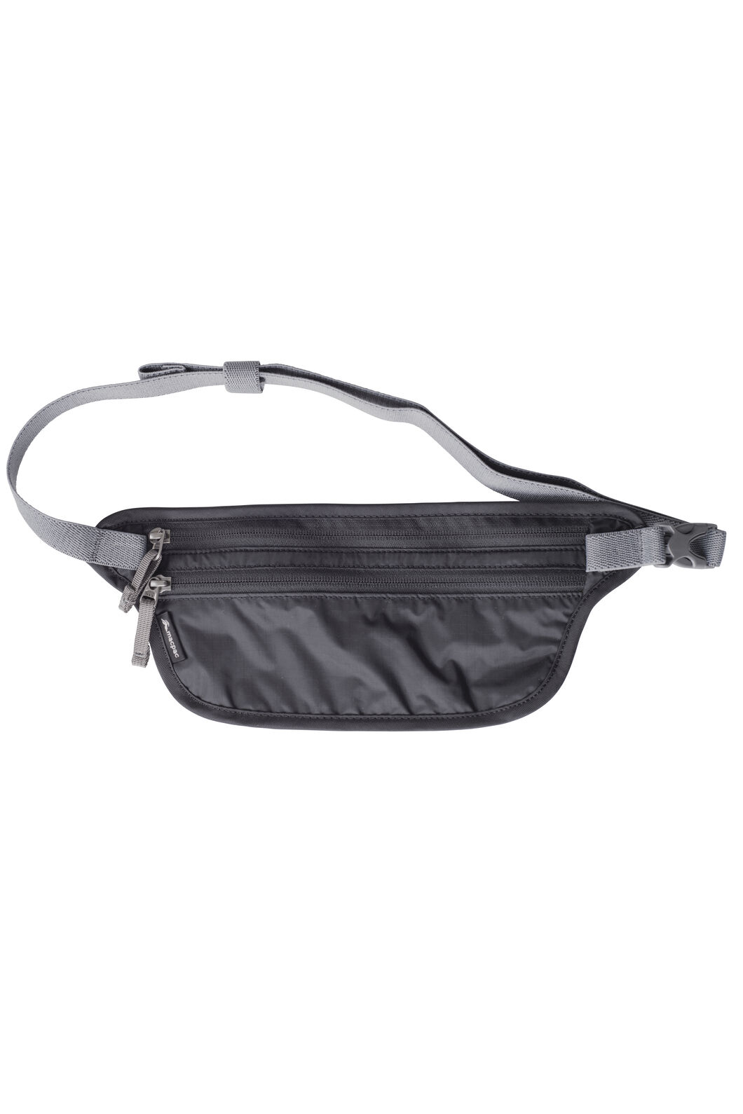 Macpac Money Belt, Black, hi-res