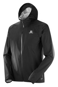 Salomon Men's Bonatti Rain Jacket, Black/Black, hi-res
