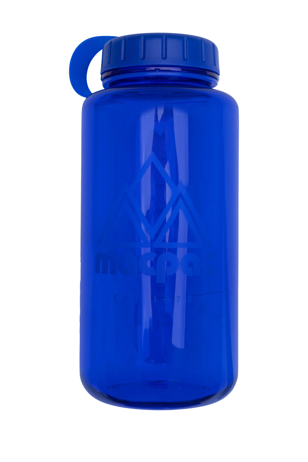 Macpac Water Bottle — 1L, Blue, hi-res