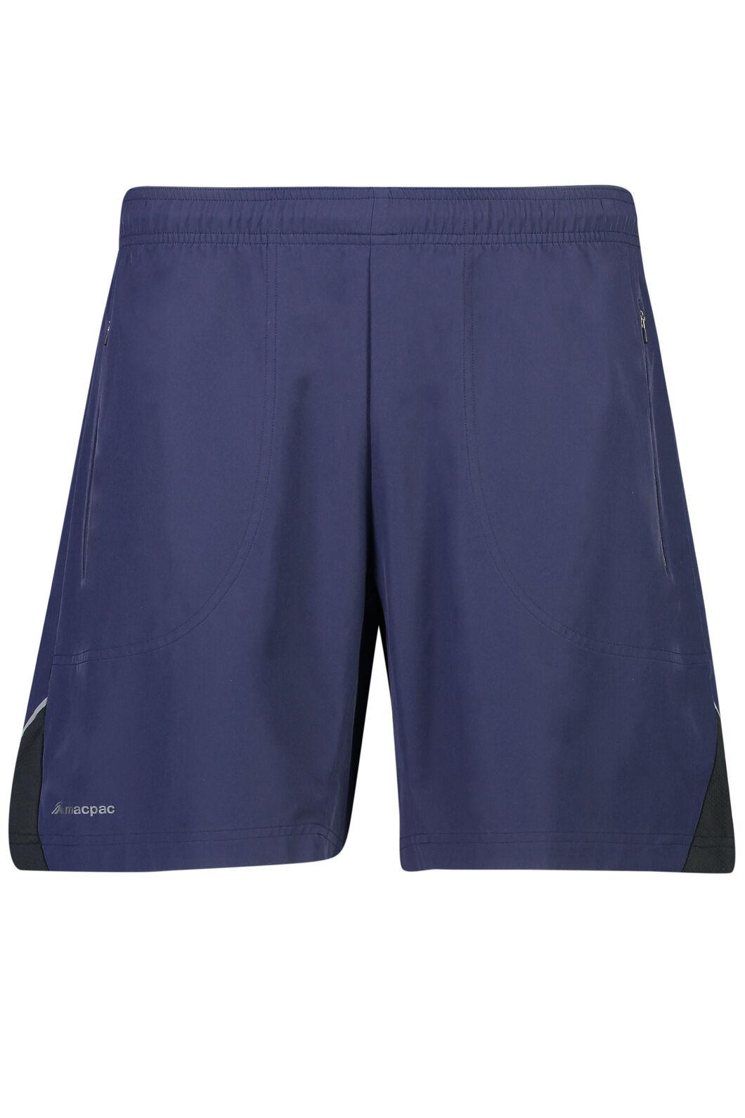 Macpac Fast Track Shorts - Men's, Black Iris, hi-res