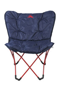 Macpac Half Moon Quad Folding Chair, Navy/Red, hi-res