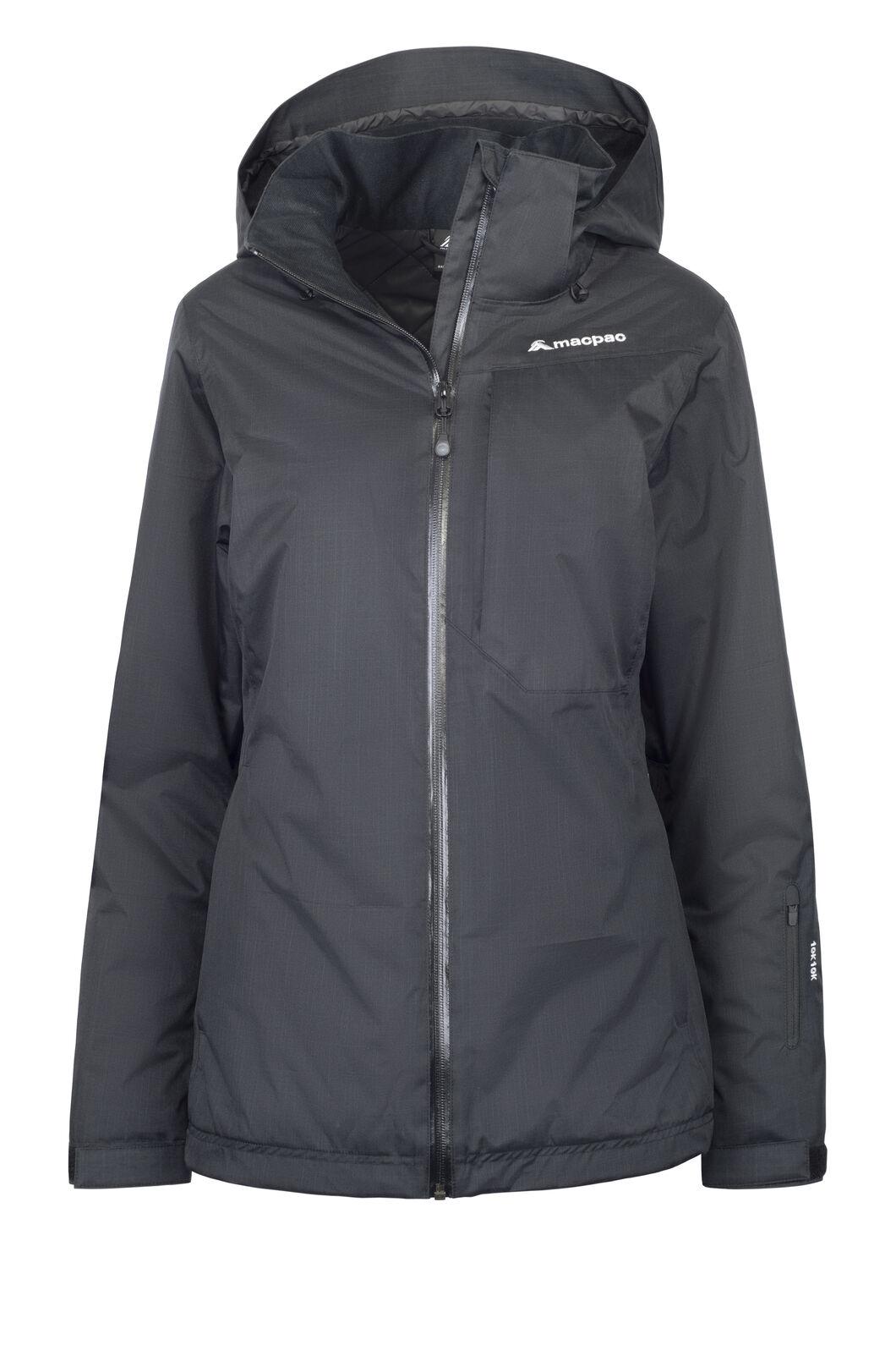 Macpac Powder Reflex™ Ski Jacket — Women's, Black, hi-res