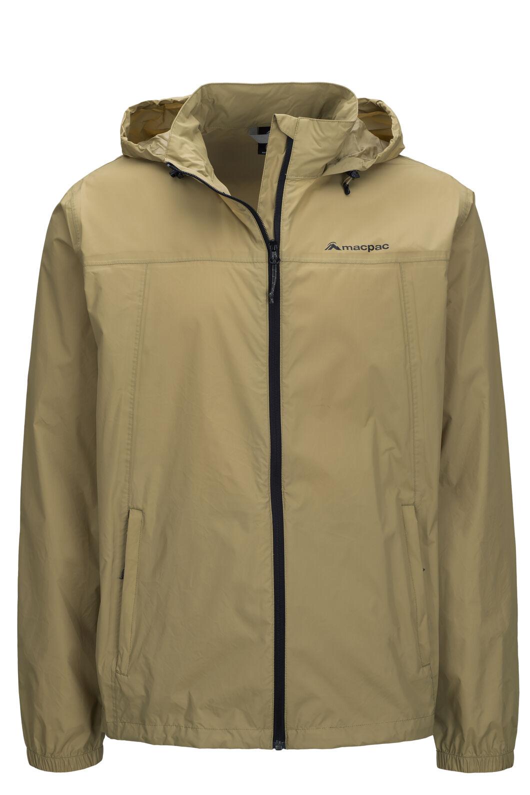 Macpac Pack-It-Jacket — Unisex, Khaki/Black, hi-res