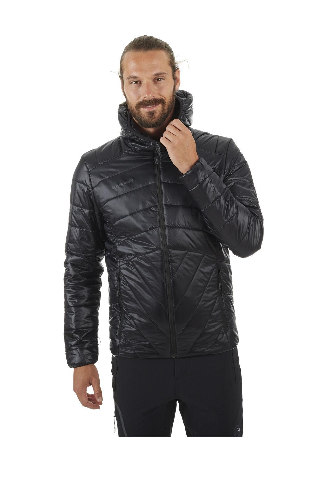Mammut Rime Flex Insulated Hooded Jacket - Men's, Black, hi-res