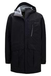 Macpac Men's Copland Pertex® Raincoat, Black, hi-res