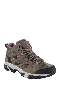 Hi-Tec Ravus Vent WP Hiking Boots — Women's, Smokey Brown/Taup/Grape, hi-res