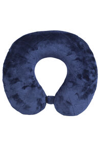 Travel Pillow Quilted Seams, Navy, hi-res